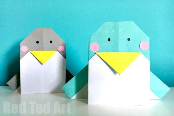 easy-origami-penguin