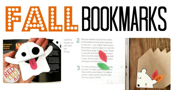 Fall Corner Bookmark Ideas for Children - Red Ted Art\'s Blog