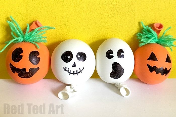 How to make a Stress Ball for Halloween. These guys are SO CUTE and easy to make. Stress Balls are made from readily available materials and are so so so fun to play with. Today we show you how to make this fab Pumpkin Stress Ball and Ghost Stress Ball! Happy Halloween!!!