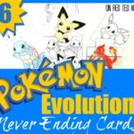 Pokemon Evolution Cards Printables