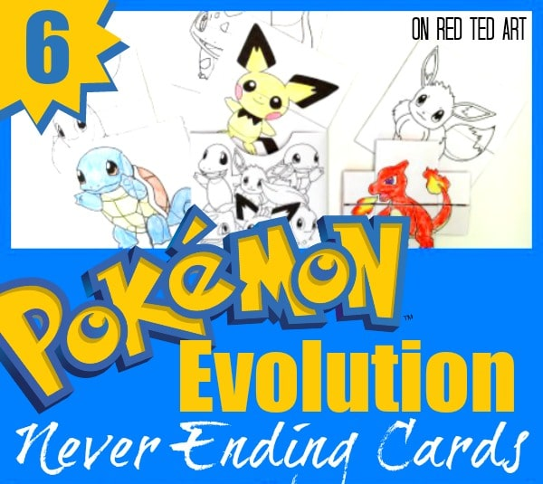 photograph about Pokemon Card Printable titled Pokemon Evolution Playing cards Printables - Pink Ted Artwork
