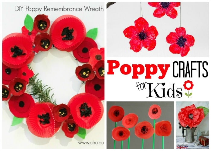 Simple Remembrance Day Crafts