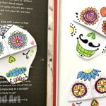 DIY Day of the Dead Bookmarks
