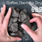 How to soften hardened air-dry clay