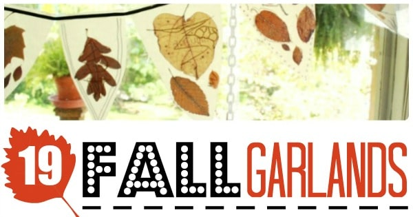 Easy Fall Garland DIY Ideas