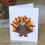 Quilled Thanksgiving Cards for Kids
