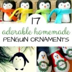Homemade Penguin Ornaments DIY
