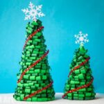 Paper Quilled Christmas Tree Centre Piece