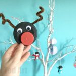 Bottle Cap Rudolph Ornament