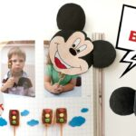 Mickey Mouse Bookmark Craft