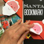 santa-bookmark-diy