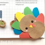 Turkey Bookmark Corner DIY