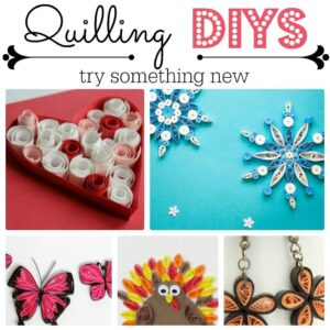 Paper crafts - how to paper quill and quilling patterns