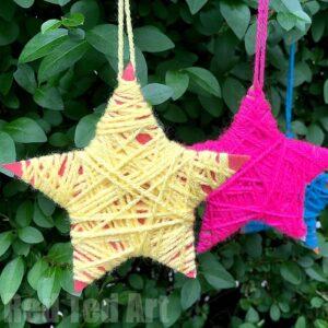yarn-wrapped-star
