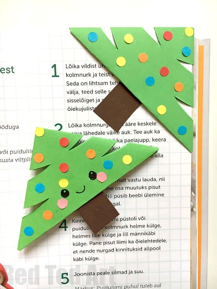 we love diy bookmarks and here is a great of christmas designs