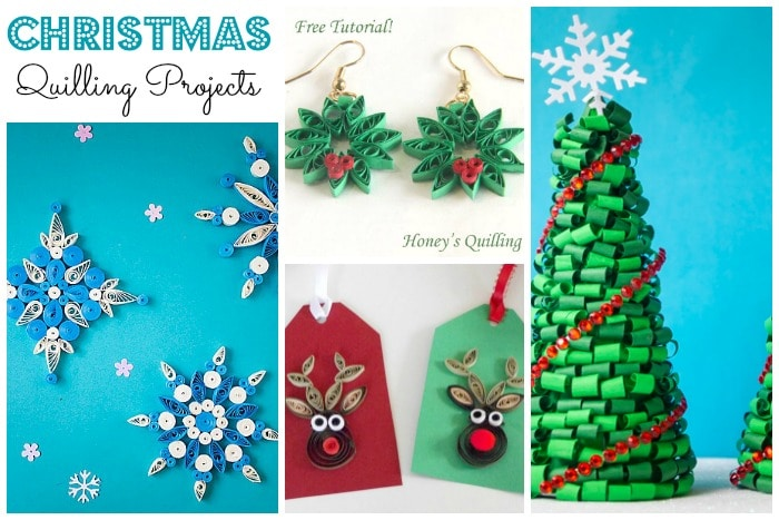 Fabulous Christmas Quilling Patterns - quilling is a surprisingly versatile AND satisfying craft technique. Why not give it a go?
