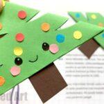 Christmas Tree Bookmark Design