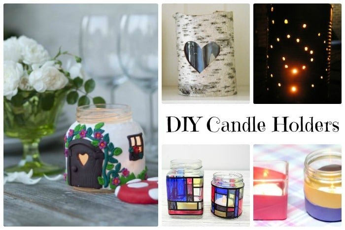 diy candle holders for all seasons - Diy Candle Holders