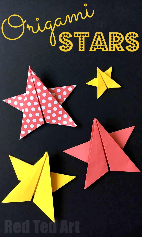 easy-origami-stars
