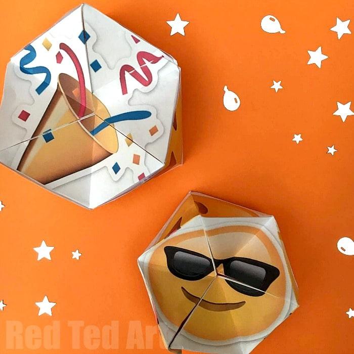 party-emoji-flexagon