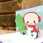 Easy Snowman Pop Up Card