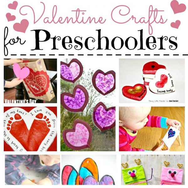 Have a go at these EASY Valentine's Cards for Preschoolers to Make. Great as both Classroom Valentine's Cards or to make at home for friends & family