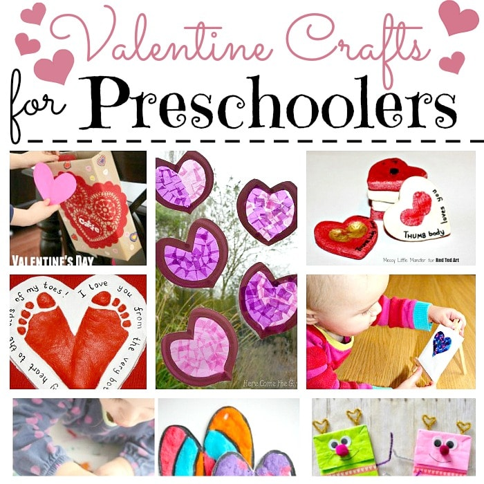 Valentine Crafts For Preschoolers  Red Ted ArtS Blog