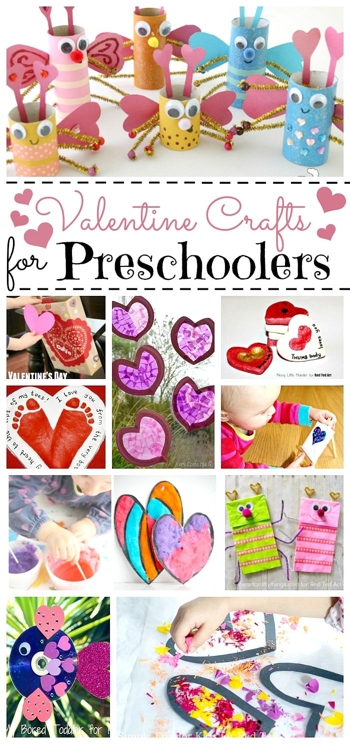 Valentine Crafts For Preschoolers Red Ted Art S Blog