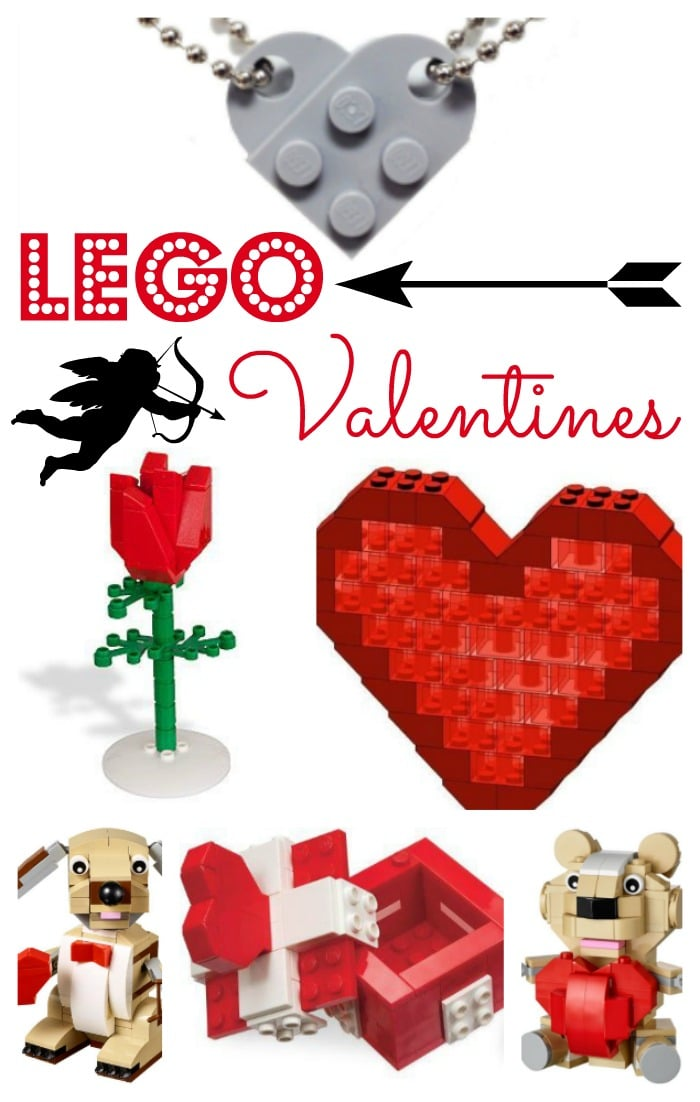 LEGO Valentines, fabulous gift sets! Love these ideas for LEGO fans.