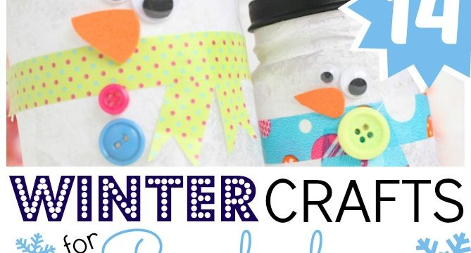 Easy Winter Crafts for Preschoolers