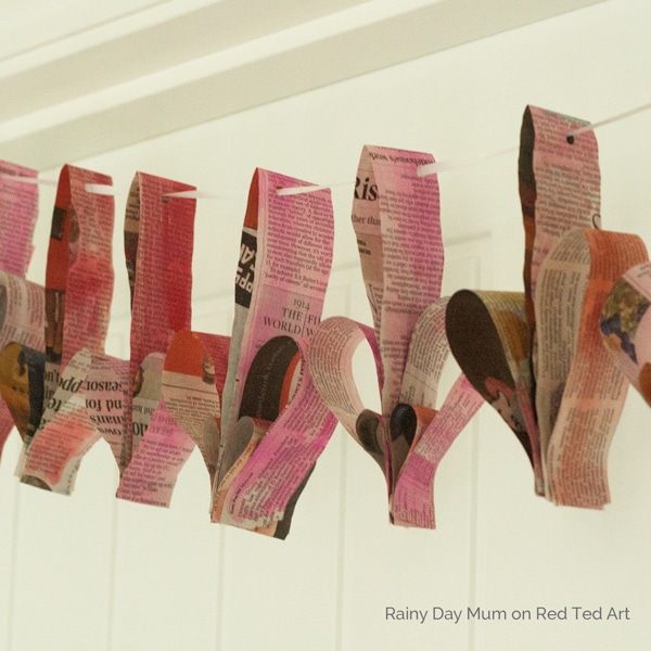 3d-Painted-Newspaper-Heart-Bunting-Square