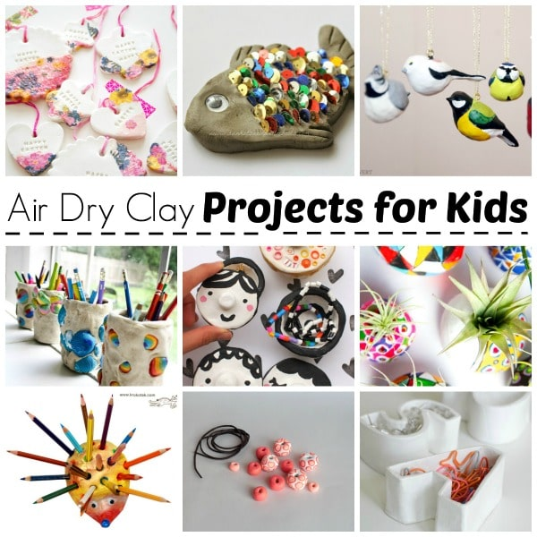 Air Drying Clay Projects - Air Dry Clay Projects - we LOVE working with air dry clay and there are many fabulous air dry clay projects for kids out there to inspire. Here are some the best we have made and found, and hope you like these clay projects too. Perfect for Art Lesson Plans, but also for working with clay at home.