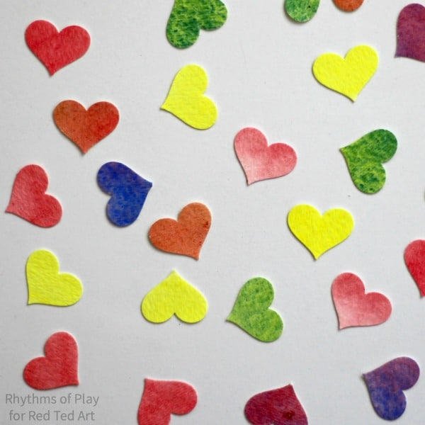 conversation-heart-valentines-day-cards-watercolor-hearts