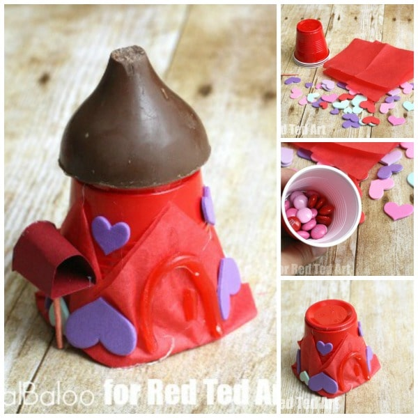 Cute Valentines Treats - Fairy House