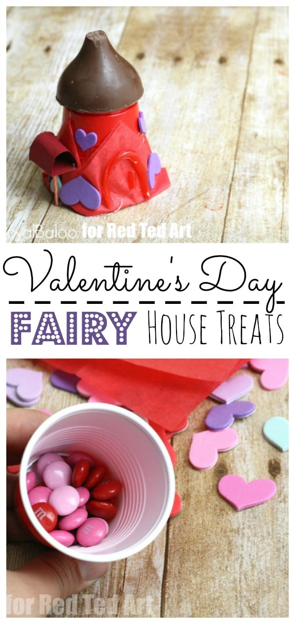 DIY Fairy House Treats for Valentines