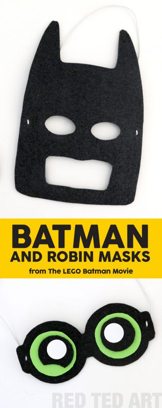 photo regarding Printable Batman Mask known as The LEGO Batman Video Mask Do it yourself - Crimson Ted Artwork