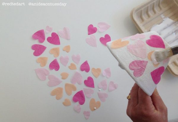 Fabric Heart Bowl DIY (2)