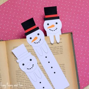free-printable-snowman-bookmarks