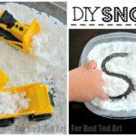 How to Make Homemade Snow Recipe