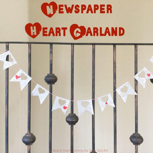 newspaper-heart-garland-2