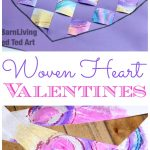 Woven Hearts Craft for Valentine