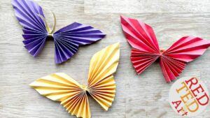 Fabulous and easy paper butterfly for kids