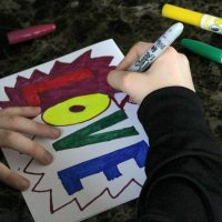 Pop Art Hearts – Valentines Art Projects