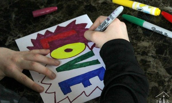 Pop Art Hearts – Valentines Art Projects