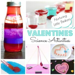 STEAM Valentine's Day Activities for kids
