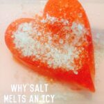 STEAM Valentines Salt & Ice Experiment