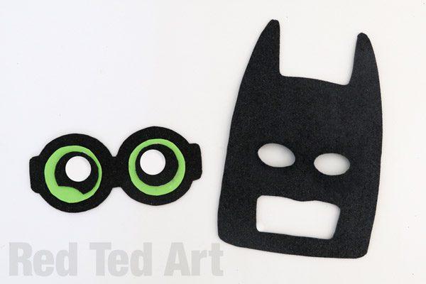 The LEGO Batman Movie - Batman Mask DIY (2)