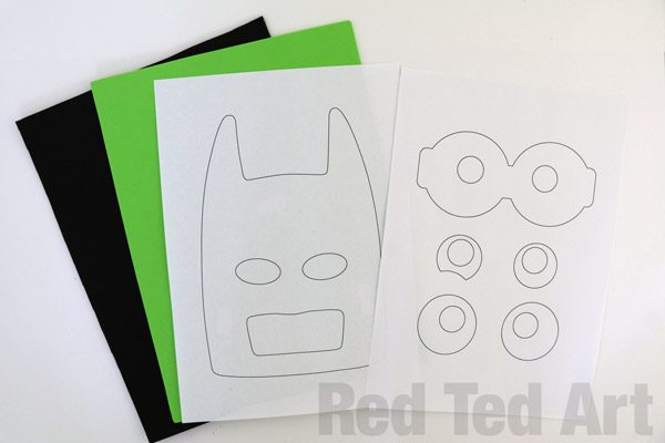 The LEGO Batman Movie - Batman Mask DIY (4)