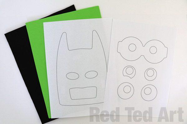 The LEGO Batman Movie - Batman Mask DIY (4)