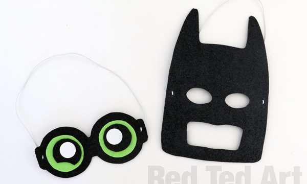 The LEGO Batman Movie Mask DIY